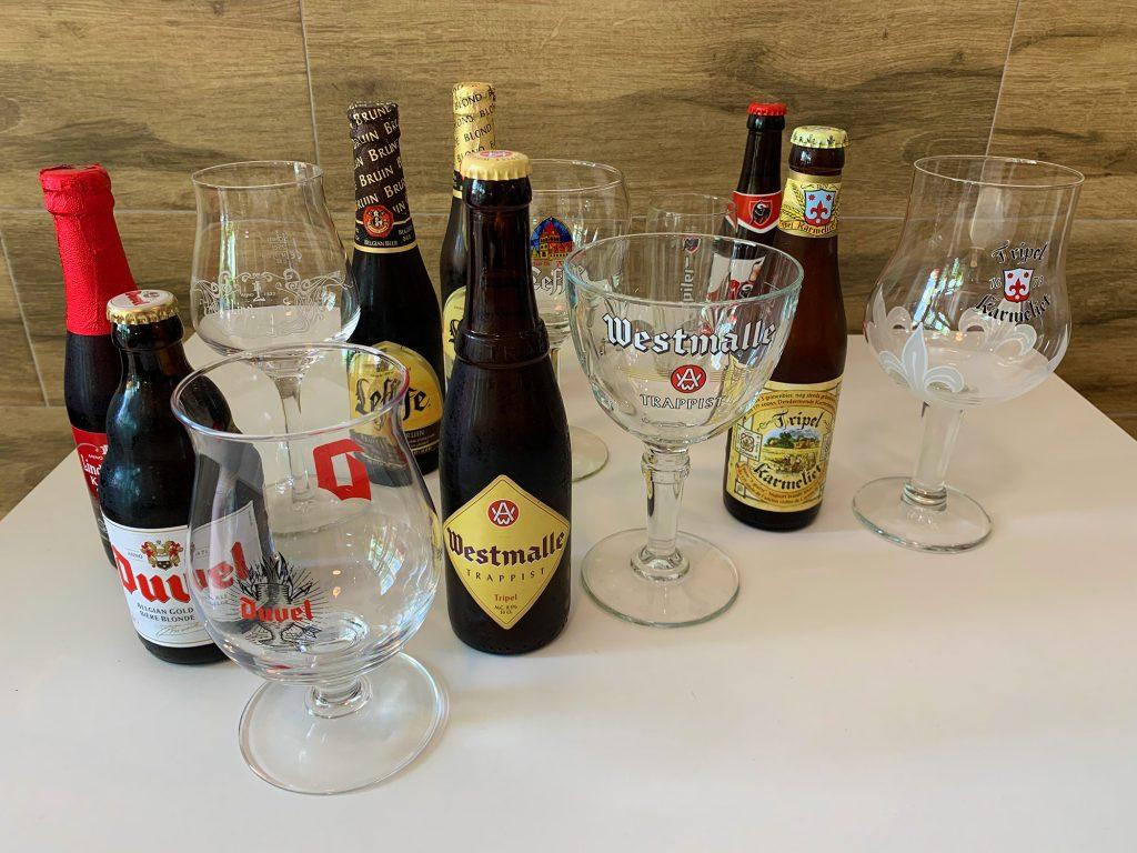 Tia Sara frituur Belgian beers