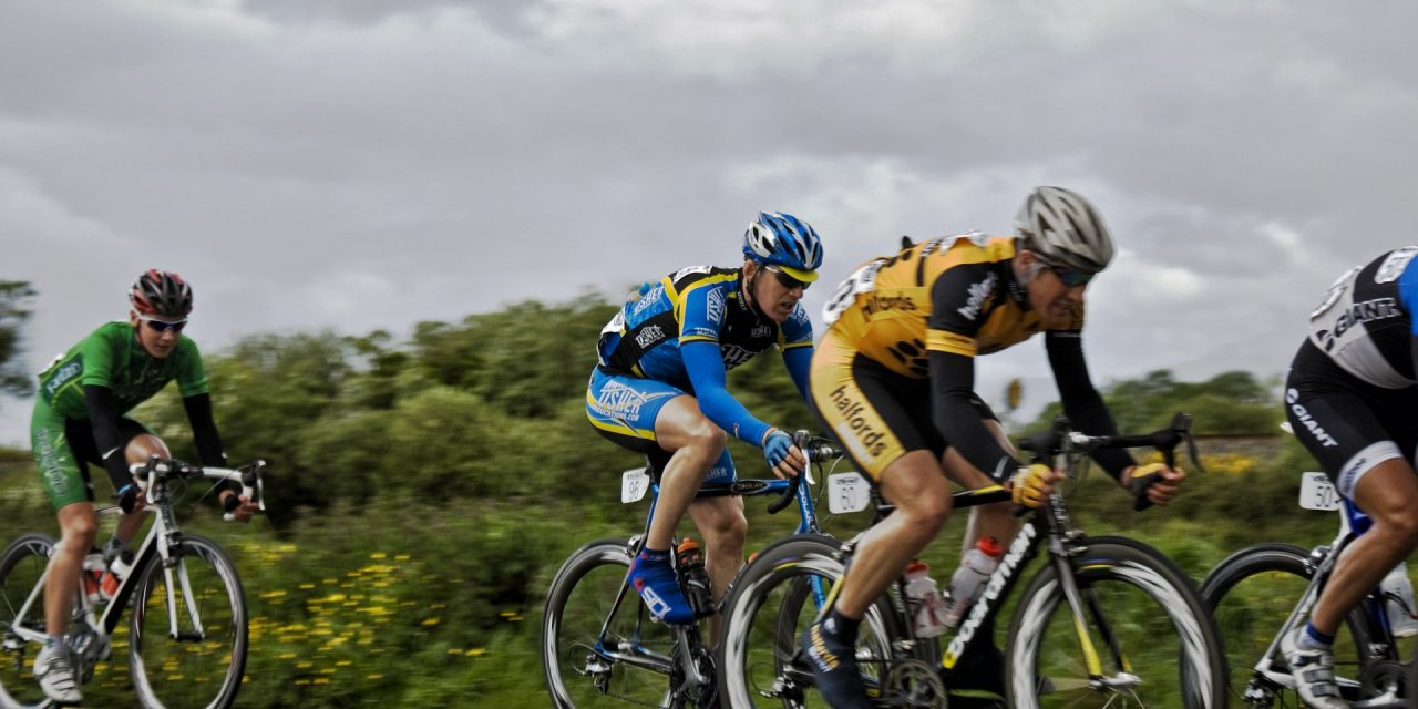 Bike Cyclists Speed Sport Race Cycling Cyclist